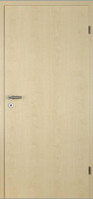 SÜHAC | CPL Innentür | Zimmertür |  Ahorn | Maserung Aufrecht