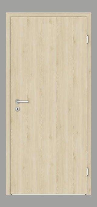 SÜHAC | CPL Innentür | Zimmertür | Touch Oak Creme | Maserung Aufrecht