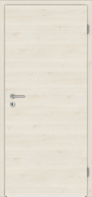 SÜHAC | CPL Innentür | Zimmertür | Touch Oak White | Maserung Quer